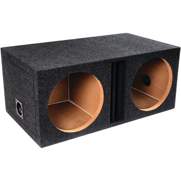 "Atrend E12Dv Bbox Series Dual Vented Enclosure With Divided Chamber (12"")"