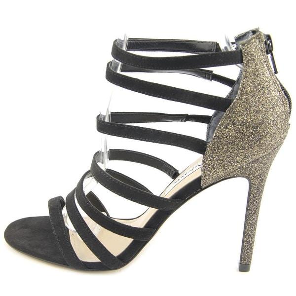 Nina Womens Chelsie Open Toe Ankle Wrap Classic Pumps - 7