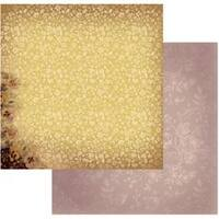 """Golden Pansies - Hearts Ease Double-Sided Paper 12""""X12"""" (5/Pack)"""