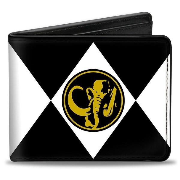 Diamond Black Ranger Mastodon Power Logo Bi Fold Wallet - One Size Fits most