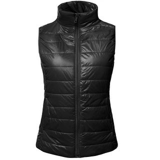 NE PEOPLE Womens Ultra Soft Lightweight Puffer Down Zip Padding Vest