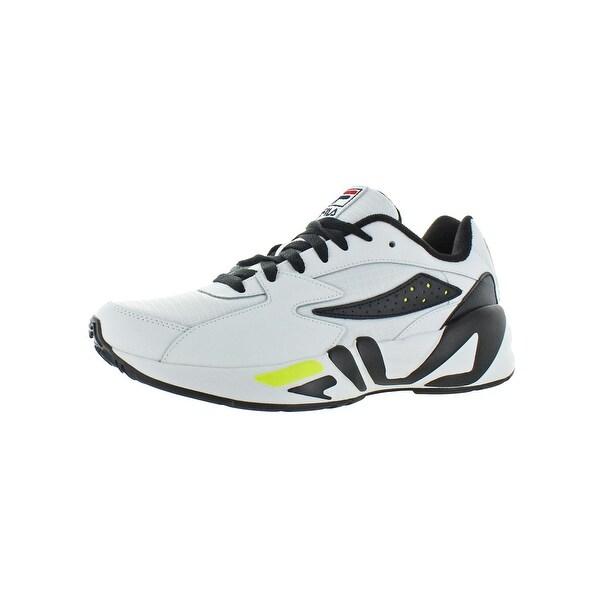 292089af60 Shop Fila Mens Mindblower SLV Casual Shoes Leather Low-Top - Free ...