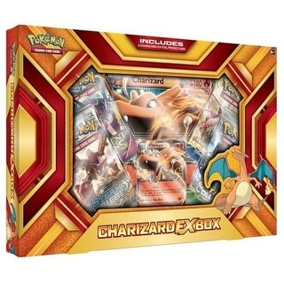 Pokemon TCG: Charizard-EX Box-Fire Blast Card Game