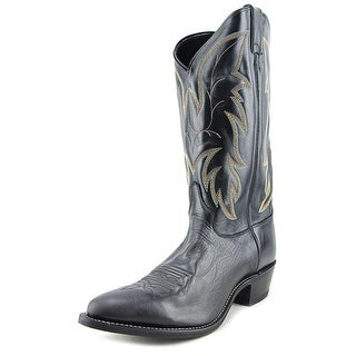 Justin 1419 E Round Toe Leather Western Boot