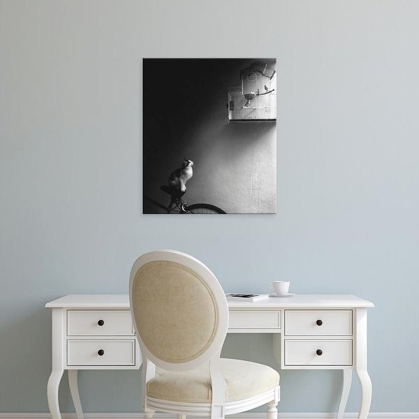 Easy Art Prints Jon Bertelli's 'Patience' Premium Canvas Art