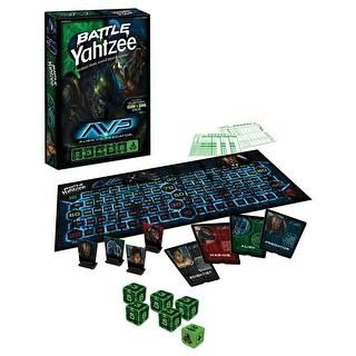 Battle Yahtzee Alien vs Predator Board Game - multi
