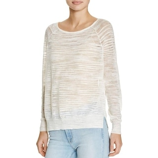 Joie Womens Emari F Pullover Sweater Slub Scoop Neck - m