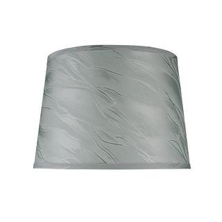 "Link to Aspen Creative Hardback Empire Shape Spider Construction Lamp Shade in Greyish Green (12"" x 14"" x 10"") Similar Items in Lamp Shades"