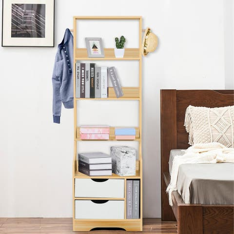 Bedroom Bedside Table Shelf Simpleness Home Living Room Space Saving Bookcase