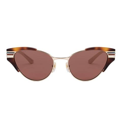 Gucci Cat Eye Sunglasses GG0522S 002 55