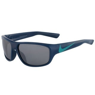 Nike Mercurial EV0887-403 Blue Frame Grey Silver Lens Junior Sunglasses