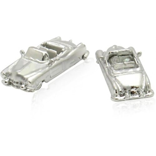 1950S Luxury Classic Car Carhop American Cufflinks
