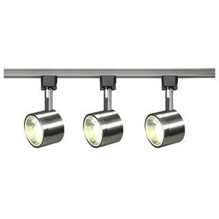 "Nuvo Lighting TK407 3 Light 3"" Wide LED H-Track Track Kit - Brushed nickel - N/A"