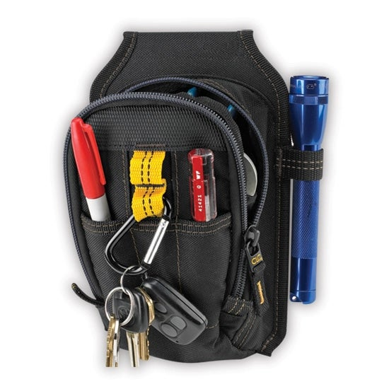 CLC 1504 Multi-Purpose Carry-All Tool Pouch, 9 Pockets