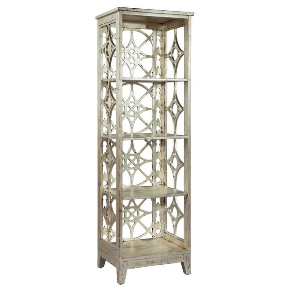Hekman 27546 21 Inch Wide Metal Bookcase With Four Tiers Special Reserve