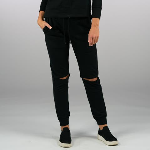 Sam Edelman Women's Knit Jogger - Black