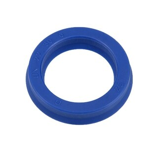 Hydraulic Seal, Piston Shaft U32i PU Oil Sealing O-Ring, 22mm x 30mm x 6mm
