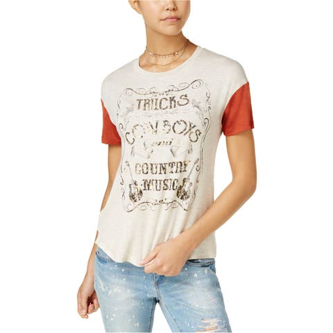 Rebellious One Womens Country Music Graphic T-Shirt