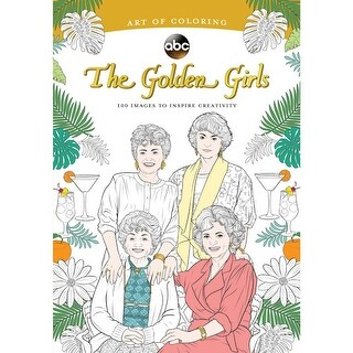 Golden Girls Adult Coloring Book - Classic TV Show