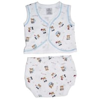 Bambini Diaper Shirt & Panty - Size - Medium - Boy