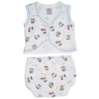 Bambini Diaper Shirt & Panty - Size - Small - Boy