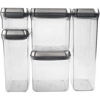 OXO SteeL POP 5-Piece Food Storage Container Set