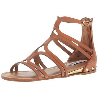 Steve Madden Womens Delta Open Toe Casual Gladiator Sandals