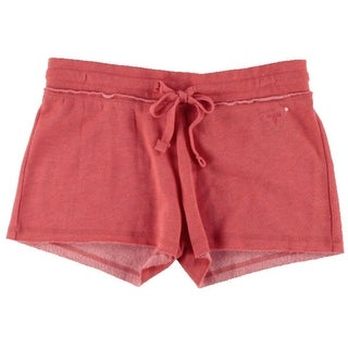 Guess Womens Sequined Drawstring Casual Shorts - S