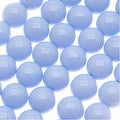 Czech Glass Round Party Beads 6mm - Pale Blue (1 Strand / 29 Beads) - Thumbnail 0