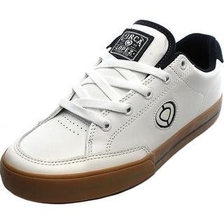 Circa Lopez 50 Slim Round Toe Leather Sneakers