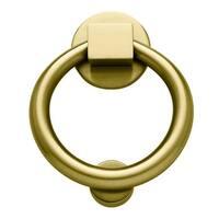 Baldwin 195 Ring Style Solid Brass Door Knocker
