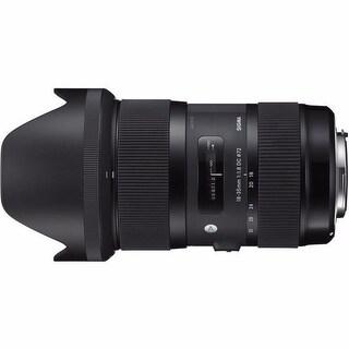 Sigma 18-35mm f/1.8 Lens for Canon Lens Bundle