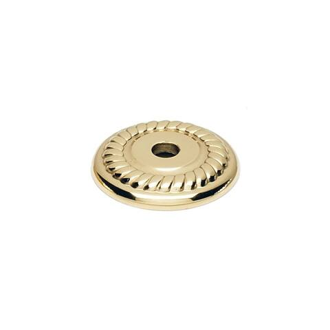 "Alno A813-1P Rope 1"" Diameter Cabinet Knob Backplate"