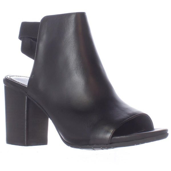 Kenneth Cole REACTION Fridah Fly Peep Toe Ankle Booties, Black