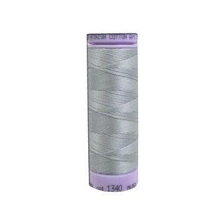 9105 1340 Mettler Silk Finish Cotton 50 164yd Silvery Gray