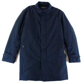 Polo Ralph Lauren NEW Navy Blue Men's Size XL Windbreaker Trench Coat