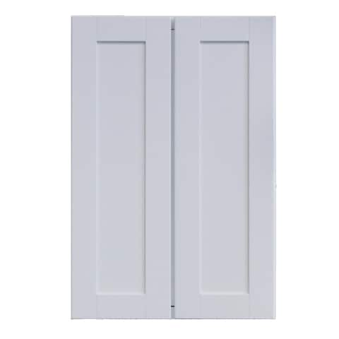 """Sunny Wood SHP2436T-A Shaker Hill 24"""" Wide x 36"""" High Double Door Pantry Cabinet"""