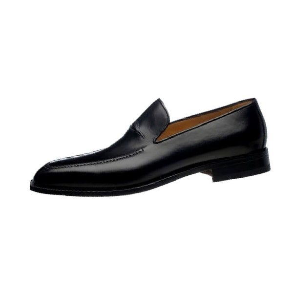 Ferrini Dress Shoes Mens Hand Crafted French Calf Leather Loafer
