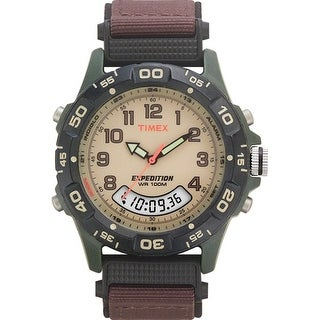 Timex Expedition Resin Combo Brown/Green Expedition Resin Combo Classic Analog Watch
