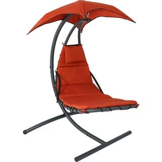 Sunnydaze Floating Chaise Lounger Swing Chair with Canopy, 79 Inch Long, 260 Pound Capacity|https://ak1.ostkcdn.com/images/products/is/images/direct/ae26b6964ba133924ca1bd4add666e3b25381824/Sunnydaze-Floating-Chaise-Lounger-Swing-Chair-with-Canopy%2C-79-Inch-Long%2C-260-Pound-Capacity.jpg?impolicy=medium
