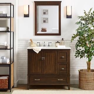 Link to Avenue Greene Konnor 36-inch Bathroom Vanity Similar Items in Bathroom Vanities