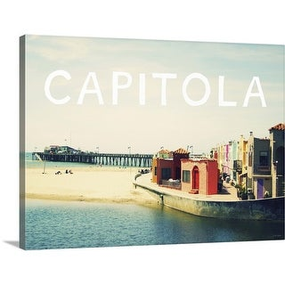 """Capitola PC"" Canvas Wall Art"