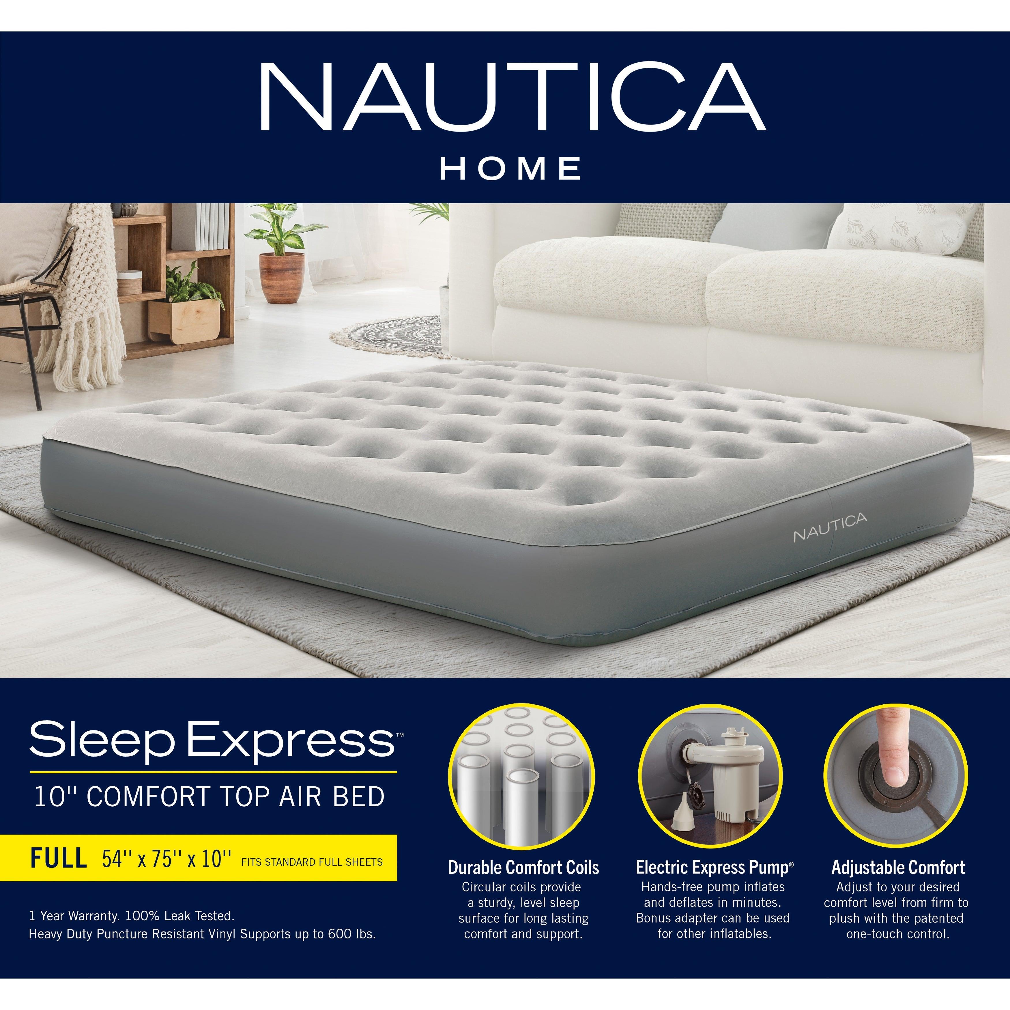 Nautica Home 10 Sleep Express Air Bed Mattress On Sale Overstock 32254451