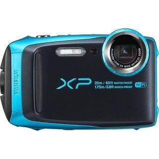 Fujifilm - Digital - 16544448|https://ak1.ostkcdn.com/images/products/is/images/direct/ae29bca106d58e61a8973d2e14cd4f87cc41f86c/Fujifilm-16544448-Finepix-Xp120-16.4-Megapixel-Compact-Camera-Sky-Blue---3%22-Lcd.jpg?impolicy=medium