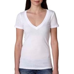 Next Level Ladies' Deep V-Neck Tee