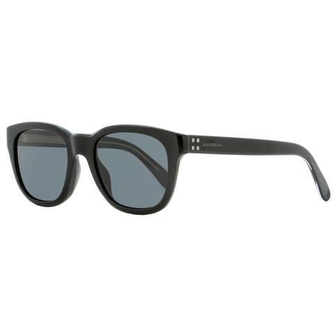 Givenchy GV7104GS 807IR Mens Shiny Black 51 mm Sunglasses - Shiny Black