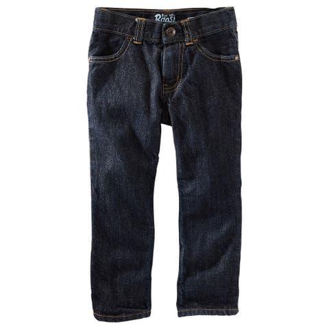 OshKosh B'gosh Big Boys' Straight Jeans - River Dark - 12S