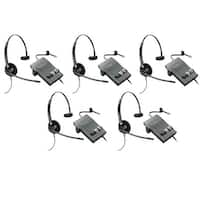 Plantronics Encore Pro HW510 with M22 (5-Pack) Monaural Noise-Cancelling Headset
