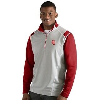 University of Oklahoma Men's Automatic Half Zip Pullover