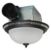 America DRLC701 70 Cfm Fan & Light Combo, Oil-Rubbed Bronze